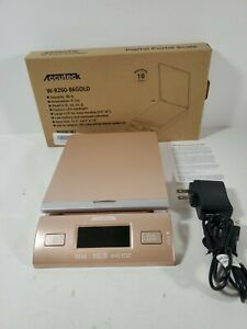 Accuteck Led Digital Postal Scale 86lbs With Ac Adapter Gold