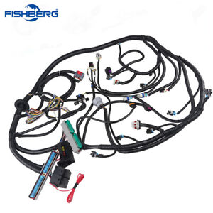 03 07 Ls3 Engine Standalone Wire Harness Drive By Wire 4l60e 4 8 5 3 6 0 Dbw