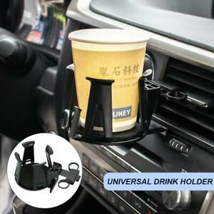 Us Air Vent Cup Drink Bottle Holder Phone Organizer For Car Truck Van Suv