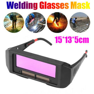 Automatic Photoelectric Welding Glasses Solar Powered Auto Darkening Welding Mas