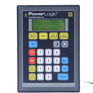 Square D Sd 220 Class 3050 Power Logic System Display
