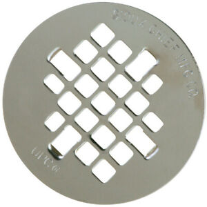 Sioux Chief 4 25 Chrome Stainless Steel Shower Drain Strainer