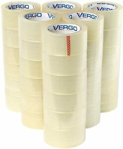 Vergo Industrial Heavy Duty 2 7mil Clear Shipping Packing Tape 36 Pack