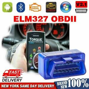 Bluetooth Obd2 Scanner Elm327 2020 New Code Reader Android Phone