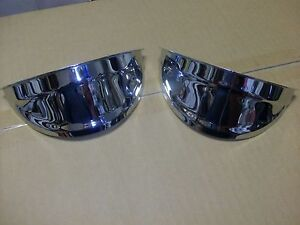 Headlight Visor 1940 S 1950 S Chevy Car And Truck Bombs Old Style Plain Style