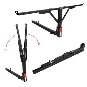 Foldable Truck Bed Hitch Extender Extension Rack Ladder Canoe Boat Kayak Lumber