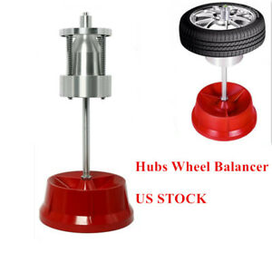 Portable Car Truck Wheel Balancer W Bubble Level Tire Balancer Changer Hub Rim