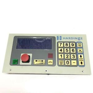 Front Panel Hardinge Danaher Programmable Cnc Servo Control Rotary Indexers