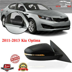 Power Mirror Heated Turn Signal Right Passenger Side For 2011 2013 Kia Optima