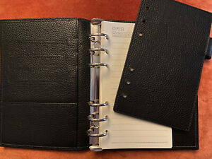 Moterm Personal Rings Organizer Planner Insert For Versa In Black New