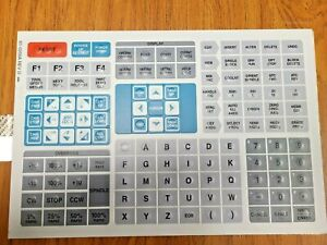 Keypad Front Panel Membrane Gray Older 4 4 As Compared To Haas Pn 61 0200a