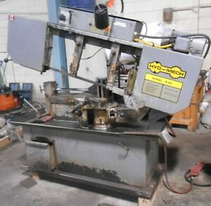 Hyd mech 13 X 18 Model S 20 Horizontal Band Saw With Miter Cutting Option