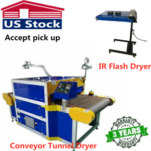 220v 8000w Conveyor Tunnel Dryer 7 2ft Long X 31 5 Wide Belt Ir Flash Dryer