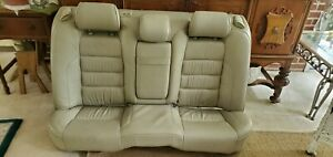 98 05 Lexus Gs300 Gs400 Gs430 Rear Seat Set With Headrests Oem Tan Leather