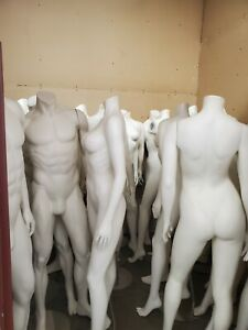 Premium Full Body Mannequins With Stands Male And Female
