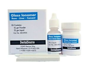 Permanent Glass Ionomer Base liner cement Orthodontic Dental Adhesive