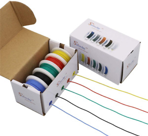Strivedayflexible Silicone Wire 18awg Electric Wire 18 Gauge Coper Hook Up Wire
