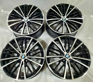 Bmw 530i 540i 530e 2017 2018 2019 19 Factory Oem Black Cnc Wheels Rims 86331