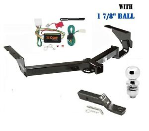 Trailer Hitch Package 1 7 8 For 2008 2013 Toyota Highlander Except W 19 Spare