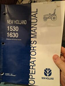 New Holland 1530 1630 1725 1925 Compact Tractors Operator s Manual