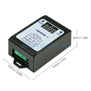 6 80v Voltage Detection Charging Discharge Monitor Relay Switch Controller New