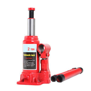 2 Ton Hydraulic Bottle Jack Lifting Ram Car Van Boat Truck Caravan Tire Changes