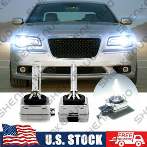 For Chrysler 300 2011 2018 6000k Xenon Hid Headlight Bulb High Low Beam Qty2