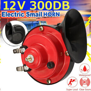 300db 12v Electric Snail Air Horn Super Loud Sound For Car Motorcycle Truck Boat