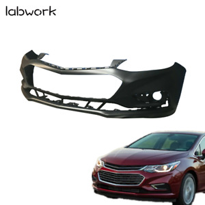 Front Bumper Cover For 2016 2017 2018 Chevy Cruze W o Park Assist Primered