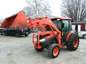 2009 Kubota L3940hst 4x4 Loader 572 Hrs free 1000 Mile Delivery From Ky