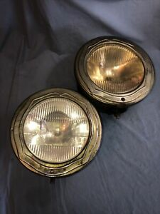 Buick Vintage Antique Guide Tilt Ray Drum Headlights Hot Rat Rod Working Cond