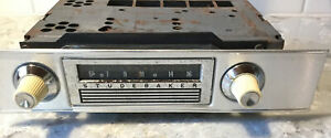 1963 Studebaker Lark Am Manual Tune Radio Original Delco P N Ac 3351 Untested