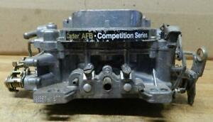 Used 4 Bbl Carter Competition Series Afb Carburetor 9635sa 1677 For Parts
