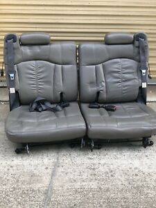 Leather Third Row Seat Chevy Tahoe Excellent Condition