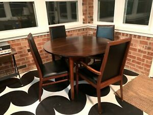 Vintage Mid Century Modern Dillingham Dining Table And Chairs