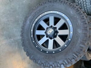 20 Inch Ion Rims And 37x 12 50 Nitto Tires Brand New