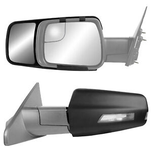 2019 2020 Dodge Ram 1500 Snap Clip On Towing Side Mirror Extension