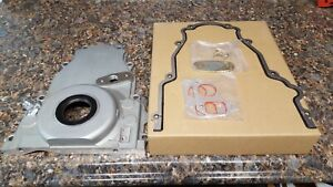 Gm Gen 3 Gen 4 Timing Cover With 10 An Turbo Drain 4 8 5 3 6 0 Ls1 Lq4 Lq9 Ls3