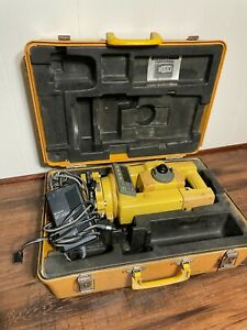 Topcon Gts 312 Surveying Total Station With Bc 20br Power Supply And Hard Case