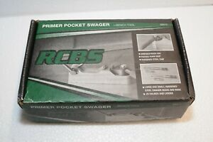 RCBS PRIMER POCKET SWAGER BENCH MOUNT $79.99