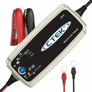 Ctek 56 353 Multi Us 7002 12 Volt Battery Charger Black