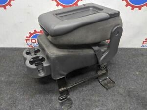 99 06 Chevy Silverado Grey Cloth Center Folding Jump Seat Console