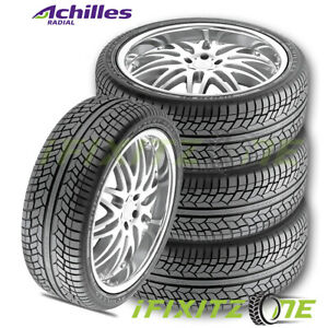 4 Achilles Desert Hawk Uhp 235 55r19 105v Tires Performance All Season 35k Mile