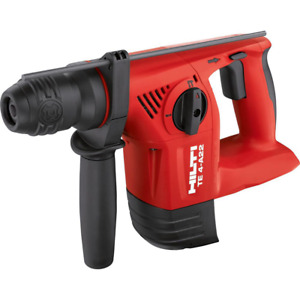 22 volt Lithium ion Sds Plus Cordless Rotary Hammer Drill Te 4 a Tool Body