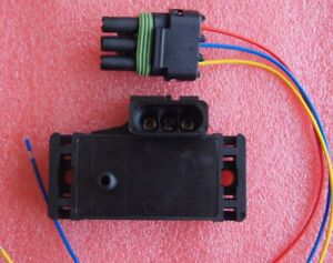 Gm Map Sensor 3bar 3 Bar For Electromotive Motec Megasquirt With Connector