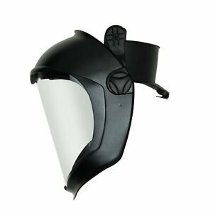 Uvex Bionic Face Shield With Hard Had Adapter And Clear Polycarbonate Anti fo