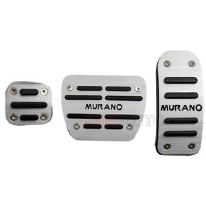 For Nissan Murano 2020 Car Accessory Aluminum At Accelerator Gas Pedal Brake Pad