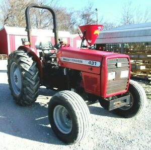 2004 Massey Ferguson 431 2 Wd free 1000 Mile Delivery From Ky