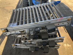 Motovario 52 w X 72 l 6 Live Powered Pallet Case Roller Conveyor Qty Available