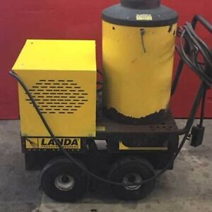Used Landa Vhw 4 2000 1ph diesel 4gpm 2000psi Hot Water Pressure Washer
